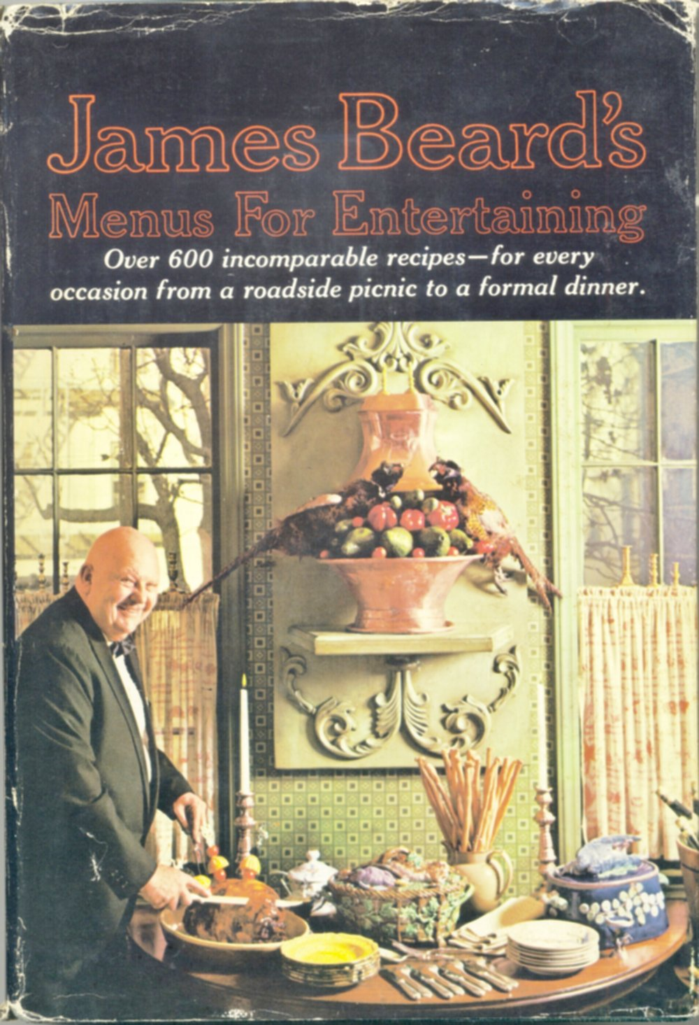James Beard's Menus for Entertaining, 1965 Book Club Edition ...book club editions are not as valuable as regular retail editions