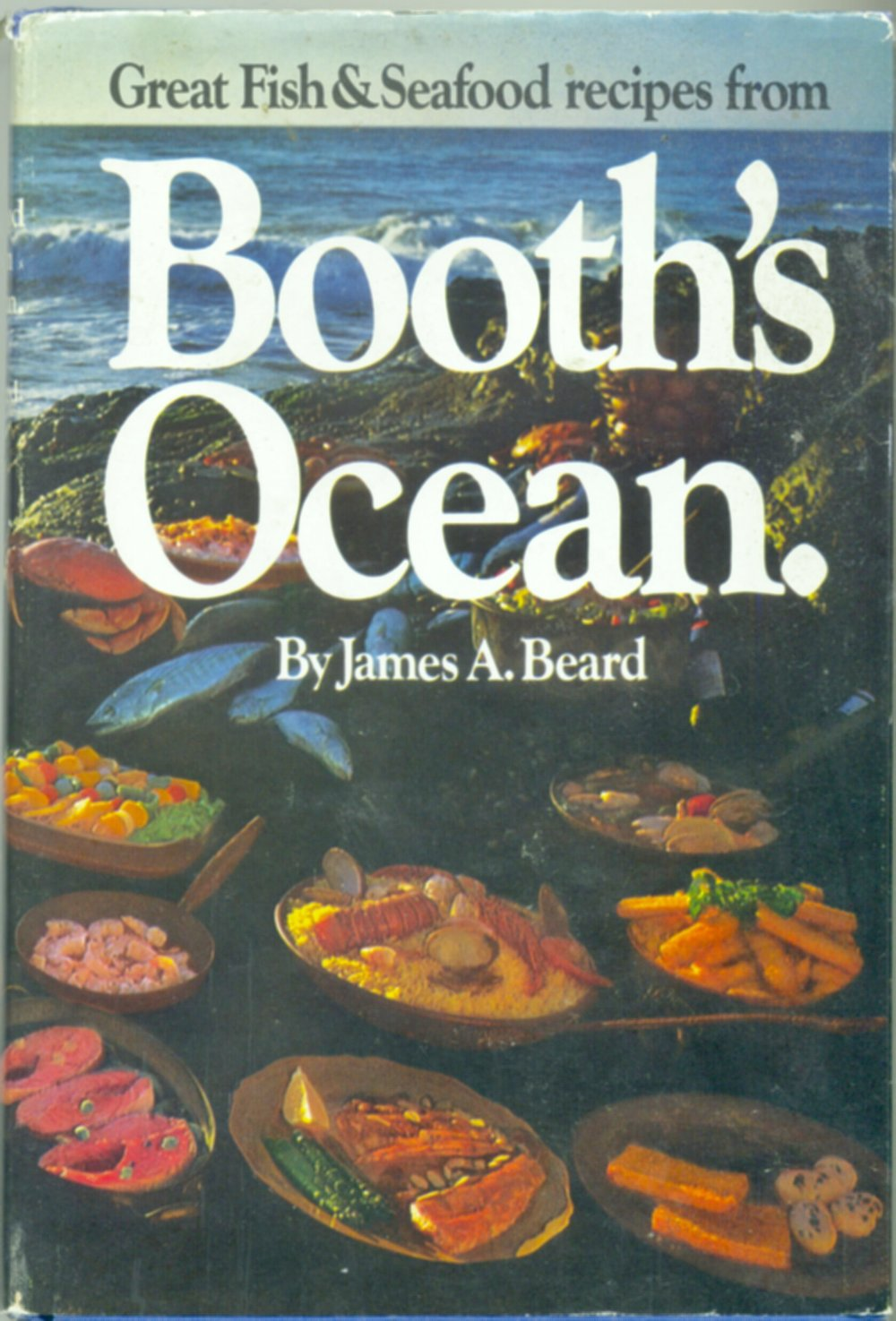 Booth's Ocean is a promotional reprint of James Beard's 1954 Fish Cookery ... 2nd printing 1971 ... Booth was a frozen seafood company