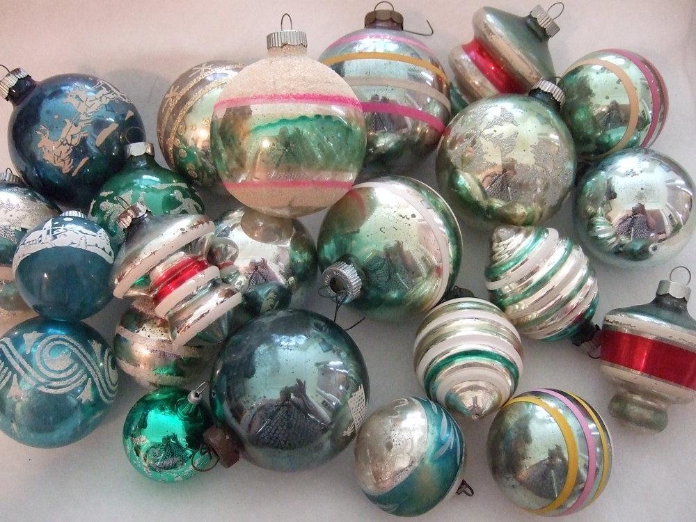 vintage ornaments 5jpg - Vintage Christmas Ornaments