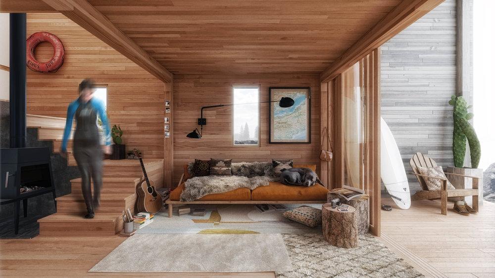 15 June 2017   SurfShack   Interior   Lounge