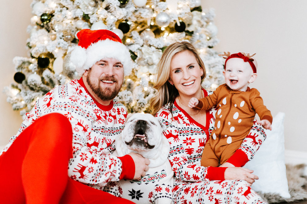 Family Christmas Pajamas With Dog.Matching Family Christmas Pajamas Alyse Warren