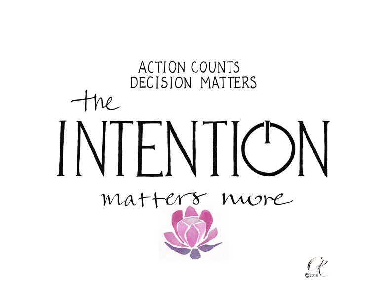 intention