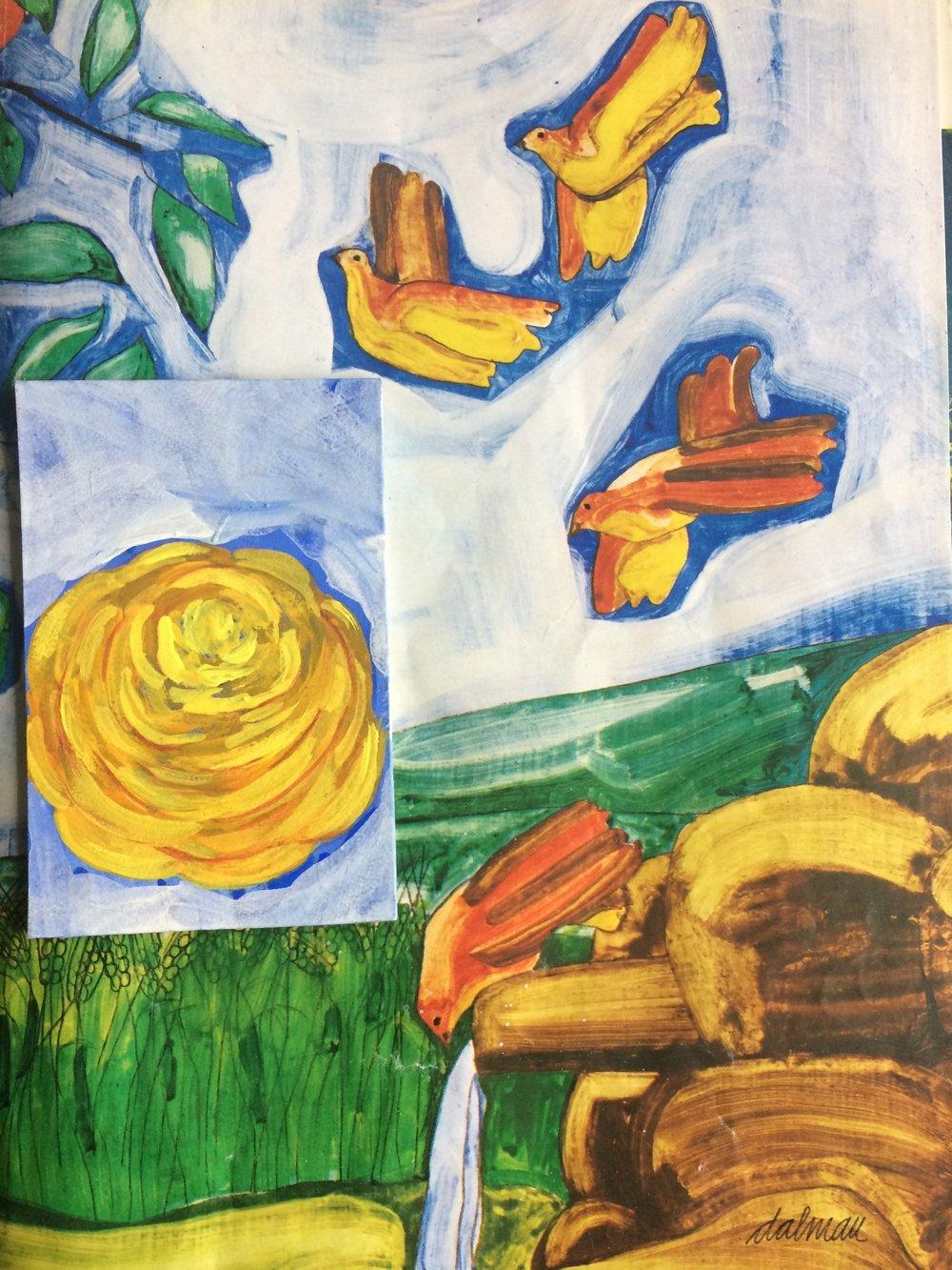 painterly strokes