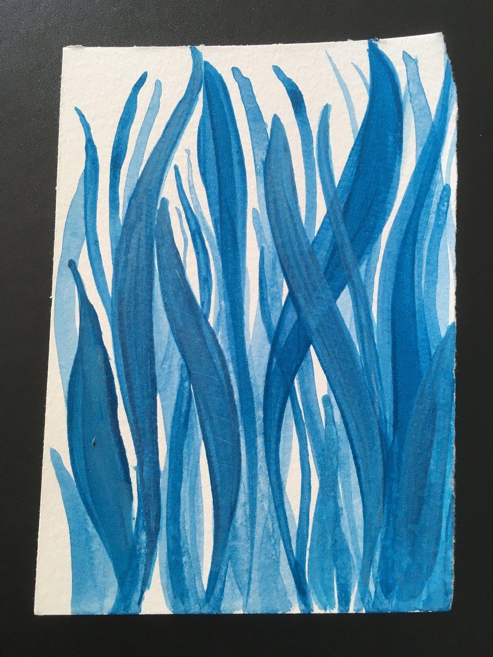 blue grass layers