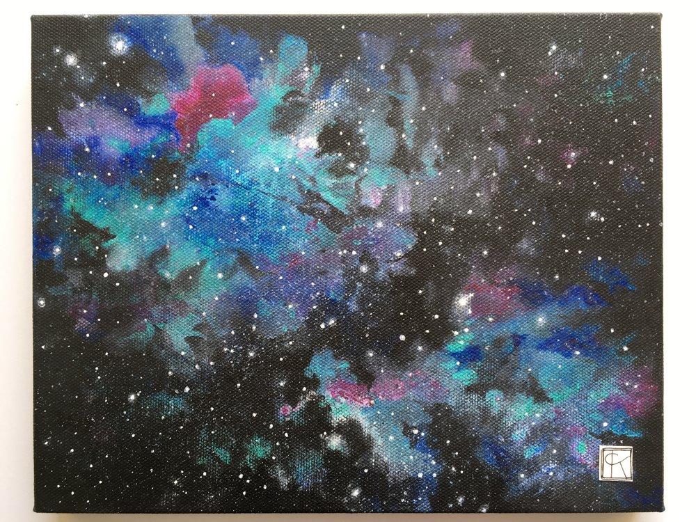 adding extra white to the stars