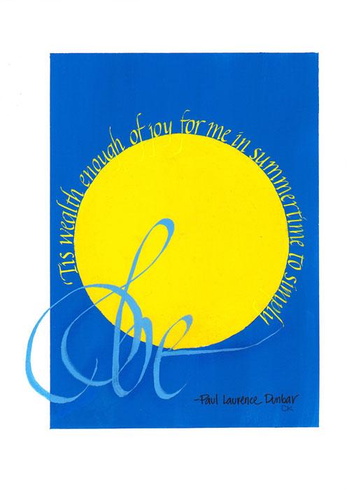 Italic alphabet quote, print available  here
