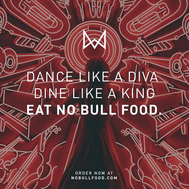 Put good fuel in that #discodiva tank of yours! 💃🏼🎆🕺🏾 Our food is pure, sustainable, vegan, gluten free, goodness that will fill your soul. All so you can #dancethenightaway. Boogie till you just can't #boogie no more! #eatnobullfood