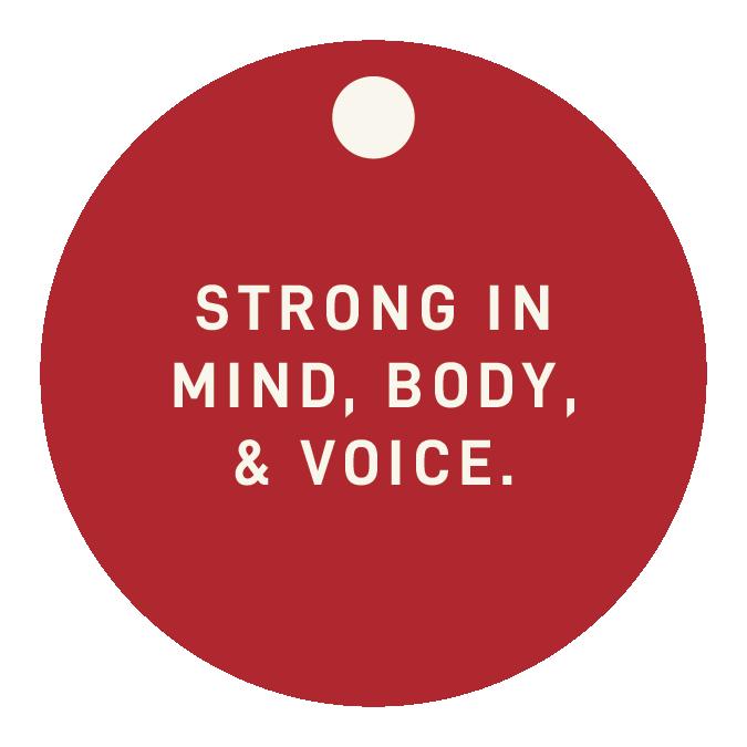 Mind, Body, Voice (MBV) Fence Charm