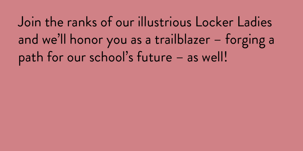 $5,000 and up - We'll make you a customizable L-Dub Locker Plaque placed on an LWGMS lockers that will show your love every day.Recognition on the lwgms.twoschools.org websiteRecognition on the lwgms.org website