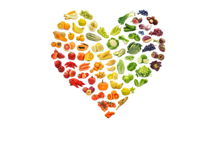eat the rainbow heart