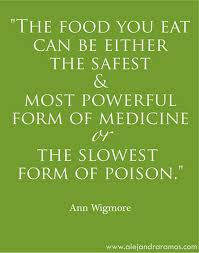 Another fabulous and true Food Matters quote.