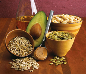 Just a few of my favourite good fats!