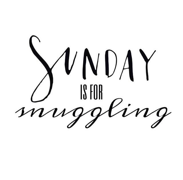 Snuggling is for every day!