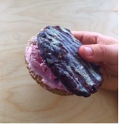 Raw vegan cookie from Ace Cookies & Milk (Smith St, Fitzroy)
