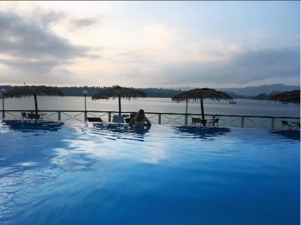 Iririki Island; enjoy spectacular views of Port Vila, fabulous hospitality and this divine infinity pool.