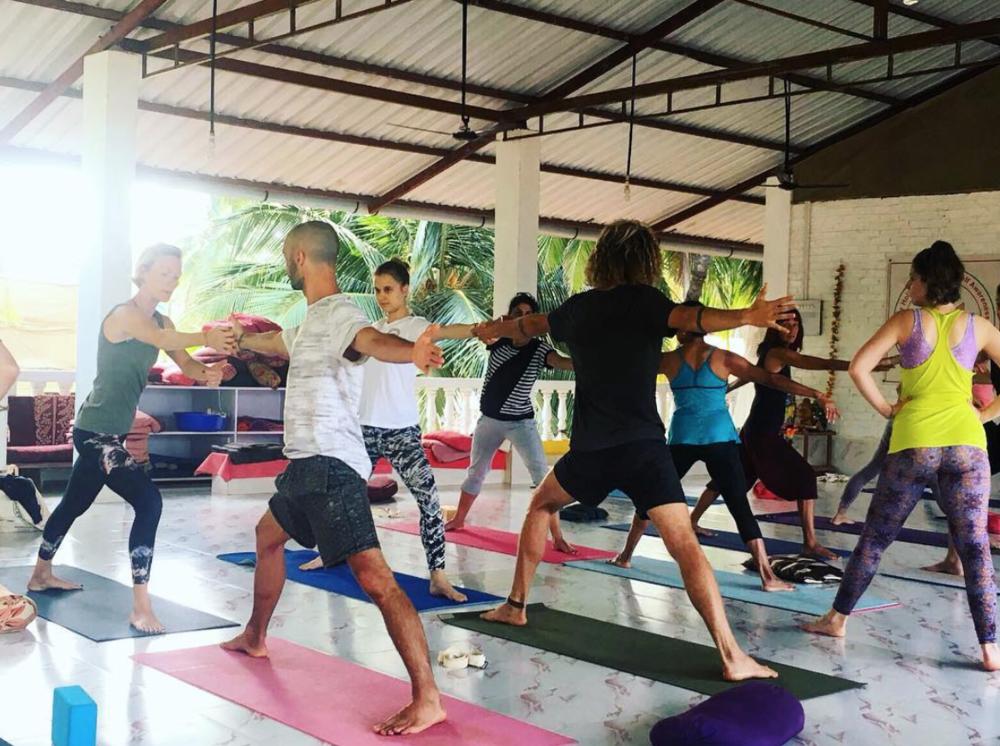 Yoga Teacher Training Practice