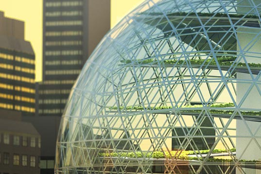 'World Food Building'.Photo Credit: Sweco Architects