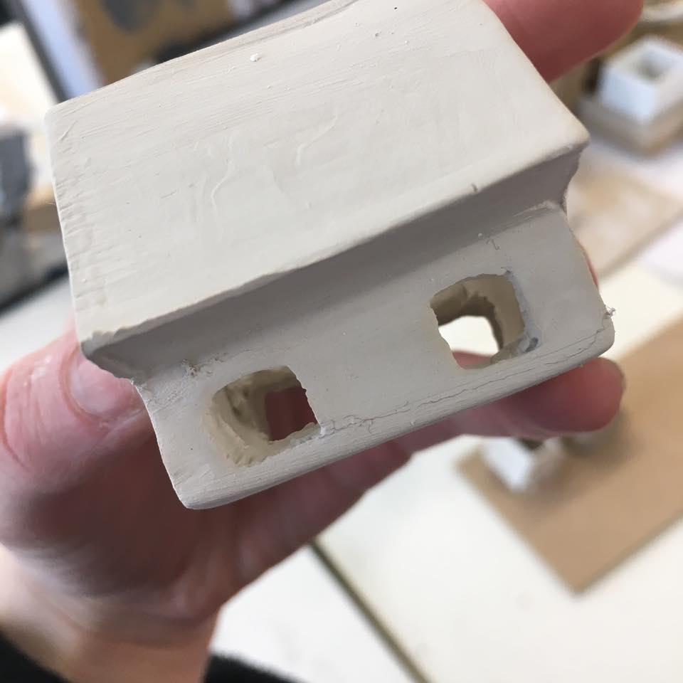 Tried and failed slip cast