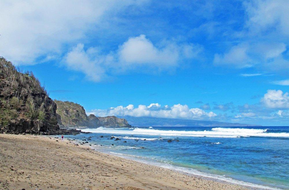 Punalau Beach Windmills Maui
