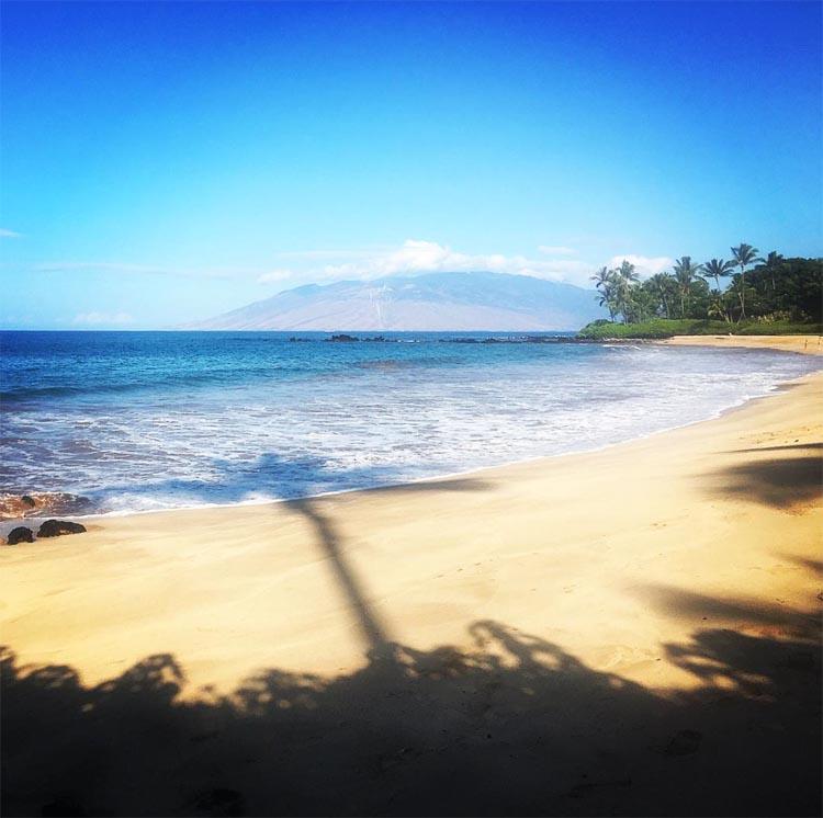 "Palauea Beach (aka ""White Rock"")"