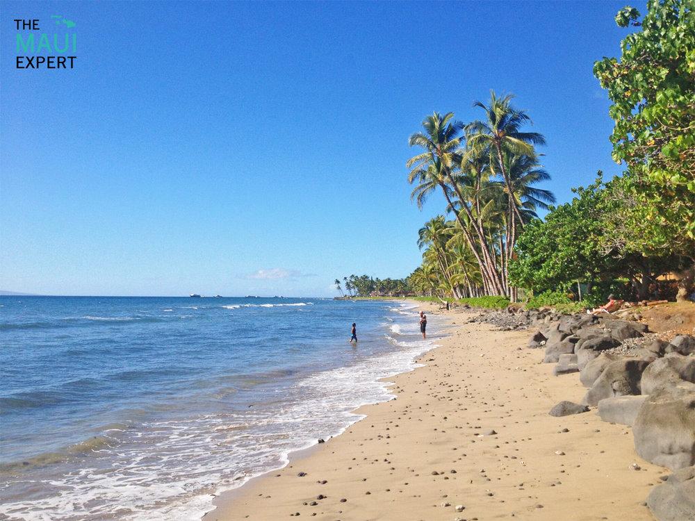 Puamana Beach Park Lahaina Maui