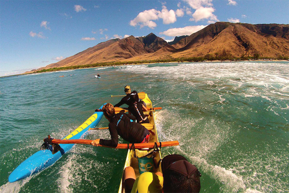 Canoe Surf with Hawaiian PaddleSports   The latest trend in water sports on Maui is called canoe surfing—and it's just as fun as it sounds…  read more