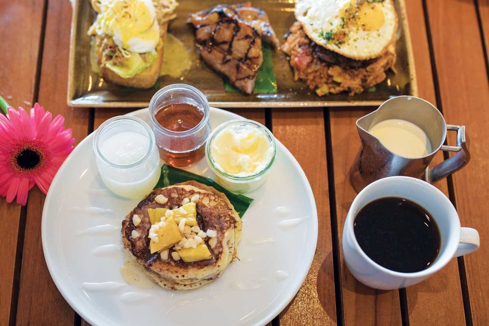 """Ka'ana Kitchen   """"All right, family, are we set up for success?"""" That's the question our server, Luke, asks while filling our coffee mugs at Ka'ana Kitchen on Maui…  read more"""
