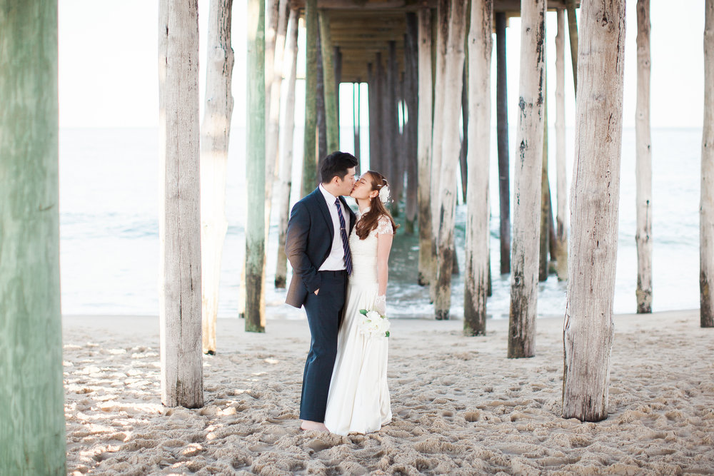 beach wedding ocean city maryland