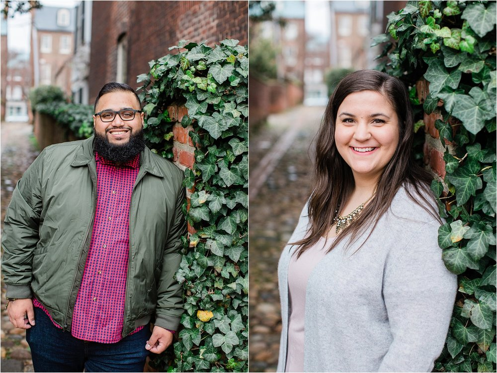 old town alexandria engagements