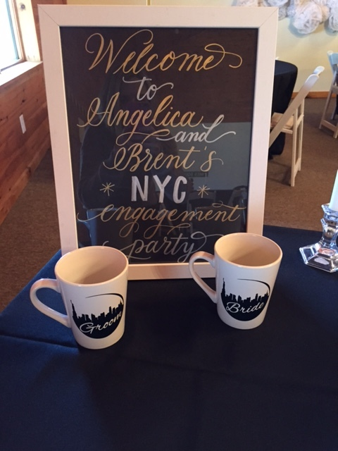 NYC Themed Engagement Party