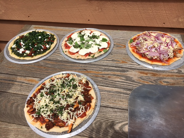Wood Fired Pizza Lunch