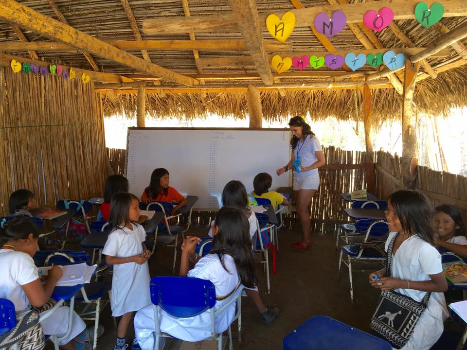 Photo take at one of the classrooms at Asentamiento Arhucao - Santa Marta, Colombia