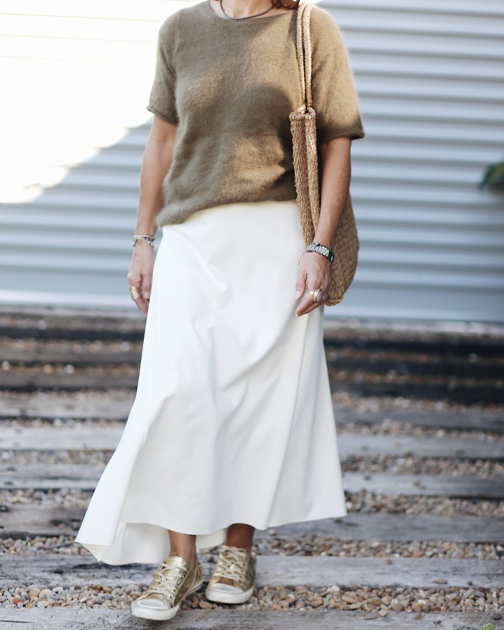 Sammy and sid vintage Cream Skirt