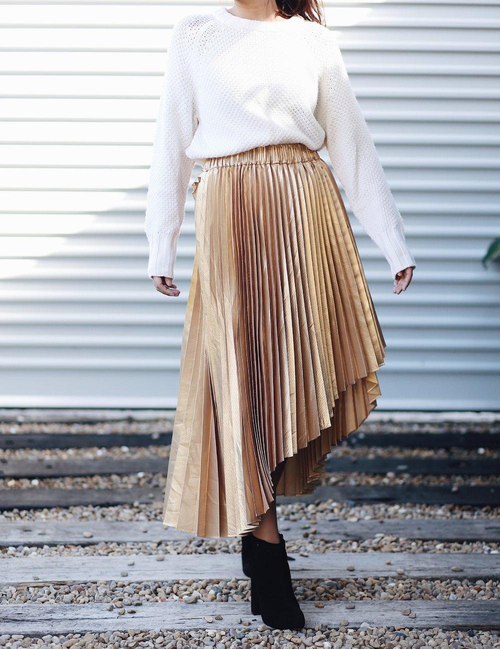 Sammy and sid vintage Metallic Skirt