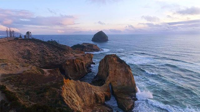 Does anyone else wonder why there are two Haystack Rocks on the Oregon Coast?