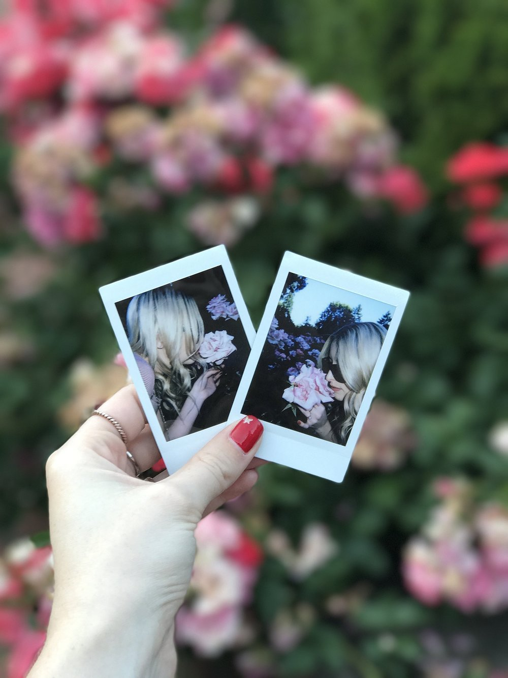 About a month ago I bought a Instax instant film camera. I don't even know why I waited so long to get one. There will be more of these polaroid shots floating into the blog in the future. :)  Shop my Instax Camera and receive some extra goodies,  here .