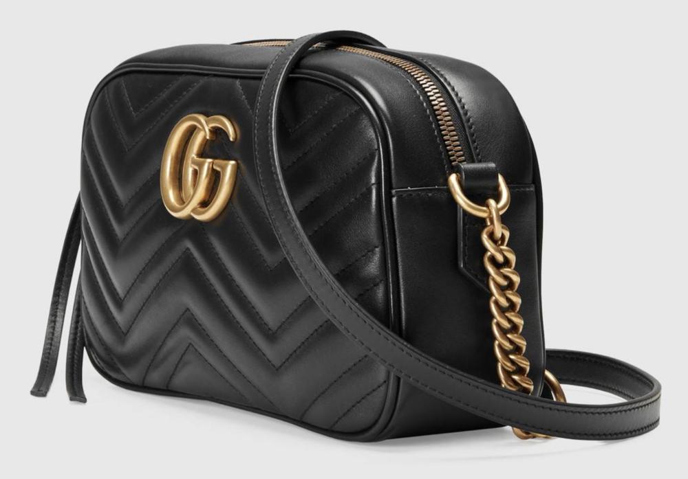 GUCCI - GG MARMONT MATELASSE SHOULDER BAG