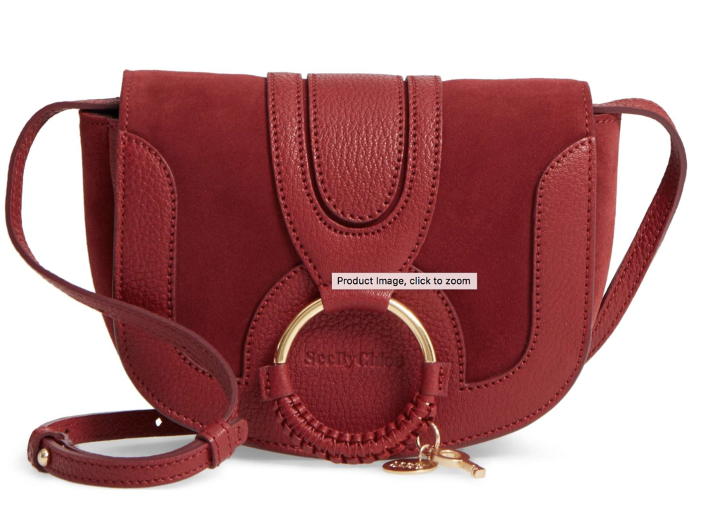 SEE BY CHLOE - LEATHER SATCHEL
