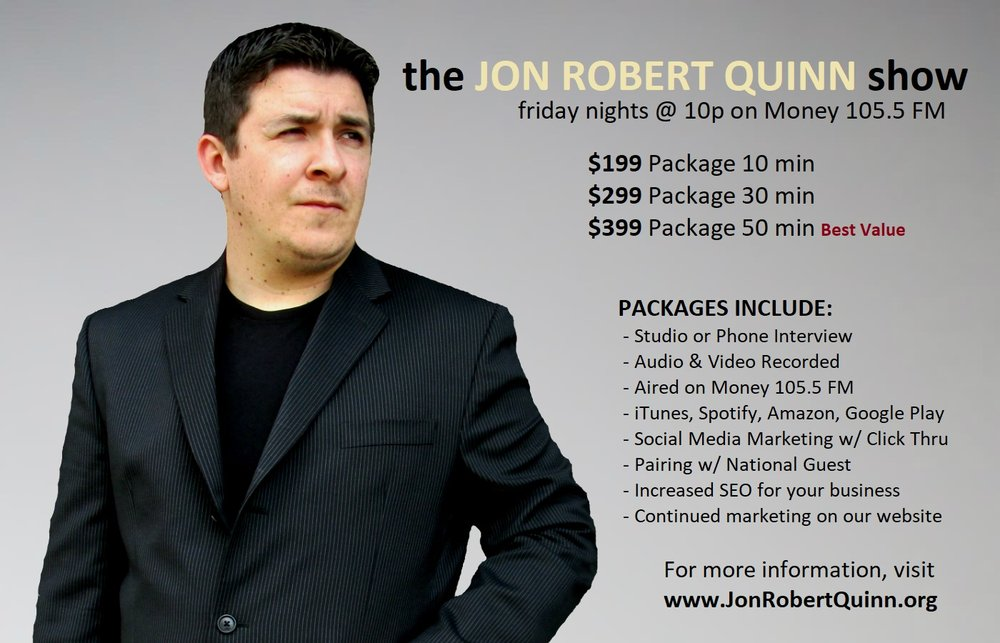 The Jon Robert Quinn Show Packages.jpg
