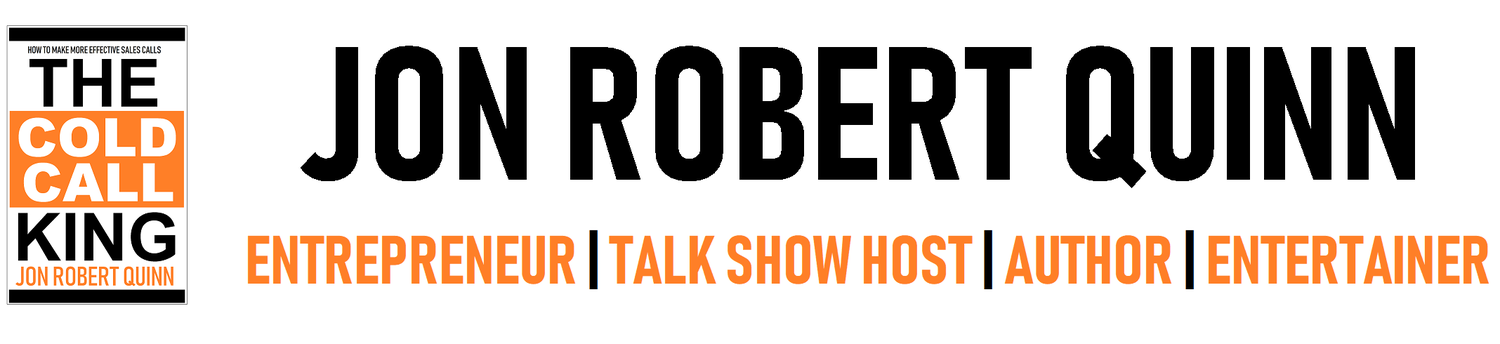 JON ROBERT QUINN National Talk Show Host | Entrepreneur | Entertainer | Author