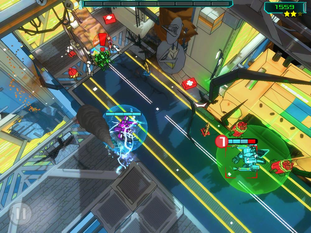 New Health / Shield bars