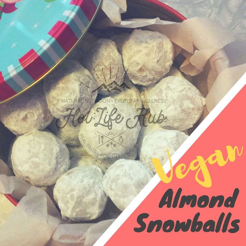 Vegan Almond Snowballs Hol Life Hub