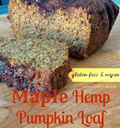 Maple Hemp Pumpkin Loaf