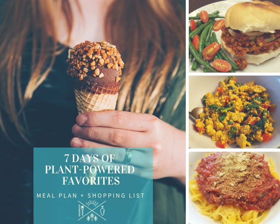 plant-powered meal plan