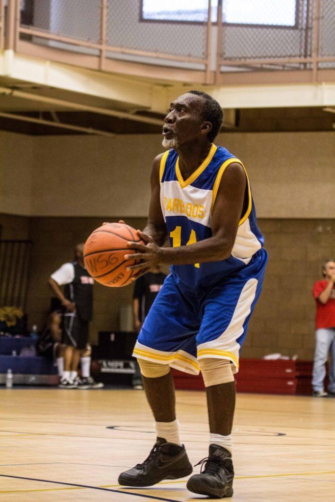 senior basketball - go get 'em Granpa