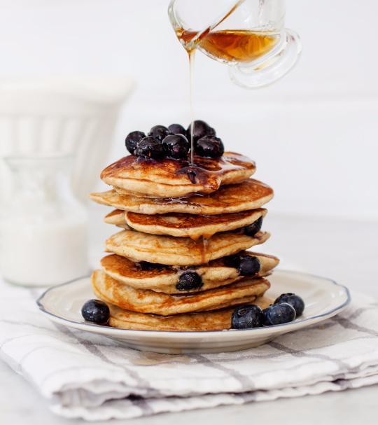 Joah's Father's Day Jingalicious Pancakes