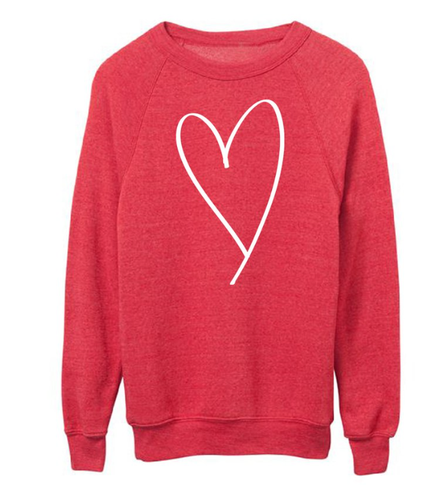 Heart Sweatshirt - $62