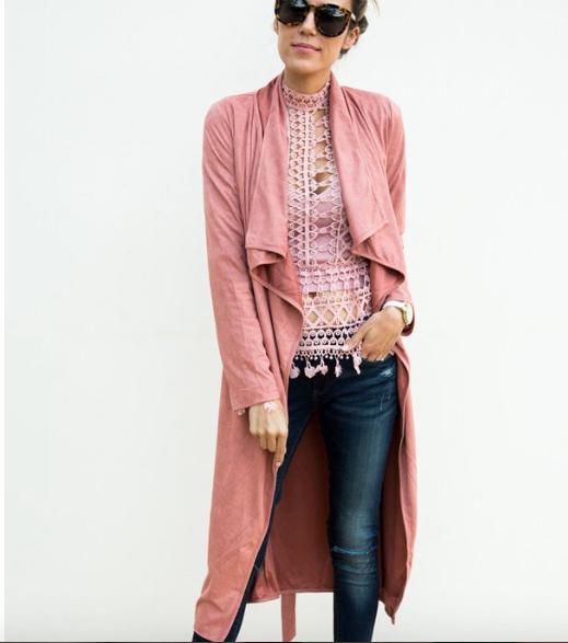 Pink Jacket - $88