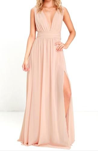 Lulu's Maxi Dress - $84