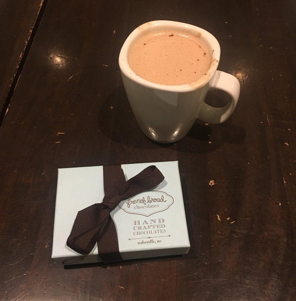 Hot Chocolate & Truffles